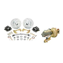Front Disc Brake Conversion Kit with Master/Booster