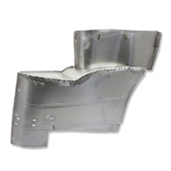1955 Convertible Rear Metal Armrest & Piston Covers