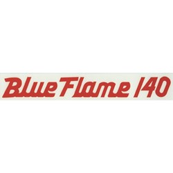 Blue Flame 140 Valve Cover Decal