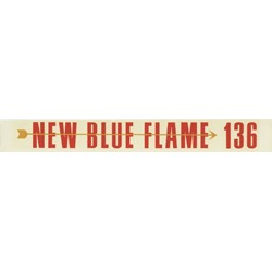 Blue Flame 136 Valve Cover Decal